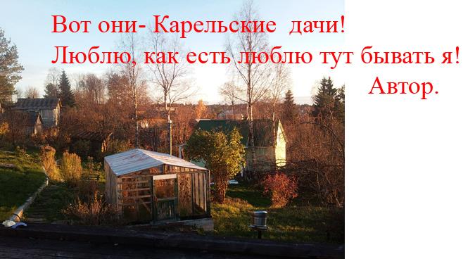 дачный садовый участок Петрозаводск